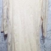 Очень красивое ажурное платье на подкладке 48-50 наш