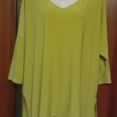 Фирменная блуза-туника в отличном состоянии р. 16-20 оверсайз