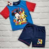 Disney оригинал!Последний! Яркий костюм на мальчика,р.86-92