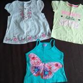 Туника/футболка/майка 1,5-2 года