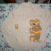 Рубашка для мальчика  с дл.рукавом