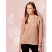 Пуловер/свитер с пайетками esmara германия р. 44-46