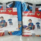 Летняя пижама, костюм футболка+шорты Lupilu для мальчиков р.110-116 или 122-128 на выбор