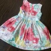 Милое платье для принцессы на 1,6-2 года