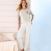 Стильные белые джинсы от Тсм Чибо (германия), размер 46евро=52-54
