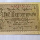 Бона Германии 1 марка 1937