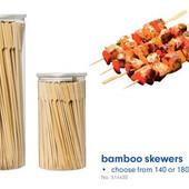 Lidl Германия Набор больших шашлычных бамбуковых шпажек 140шт * 29см