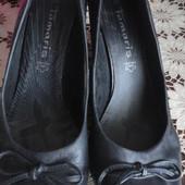 Стоп! Кожаные туфли  фирмы Tamaris (оригинал)
