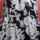 Шикарная блуза с удлиненной спинкой Баталл 28 размер