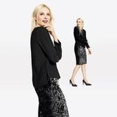 Роскошная блуза  Esmara Стильная коллекция Хайди Клум размер евро 36