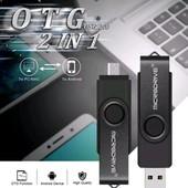 флешка 2 в 1 32gb.для компа и смартфона.