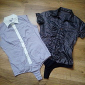 Блузки боди размер М Идеальное состояние. Обе в лоте*******