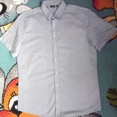 Легкая летняя рубашка - шведка , хлопок  100% от Livergy , Германия , р. Xxl , по вороту 45/46