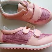Супер красивые ботиночки для девочек на осень/школа!31.32.33.34.35.36р