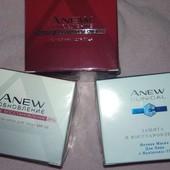 крема  avon из серии anew для лица «oбновление» spf25,маска для лица (50мл), 1шт на выбор