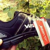 Кроссовки черные Veer Demax - легкие,дышащие. УП -5% скидка.
