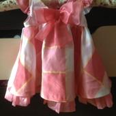 Платья для девочки 6-9 месяцев