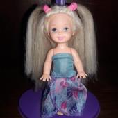 Милая Келли, Сестра Барби, оригинал Mattel, с шикарными волосами!