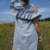 #хит#платье-трапеция#размерМ#полоска#модно