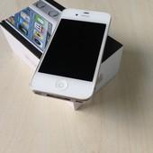 Оригинальный Apple iPhone 4 белый