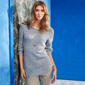 Красивый вязанный пуловер ТСМ Чибо (германия)евро 48 наш 54-56