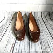 36р! Италия .Кожаные, лакированные , легенькие итальянские туфли, балетки voltan 1898