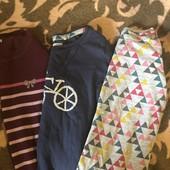 Два реглана и свитерок на 3-5 л бу