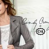 Куртка косуха c&a коллекция cindy crawford