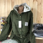 Куртка женская парка!, размер М(наш 42-44), смотрите замеры в лоте!!