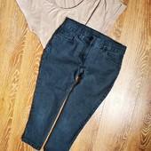 Укорочені сіренькі джинси від M&S,