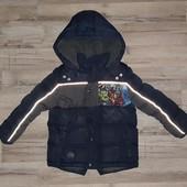 Курточка на холодную осень на 4 года