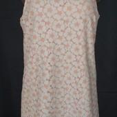 """Кружевное свободное платье""""пудра"""" от New Look,14p(l/xl)"""