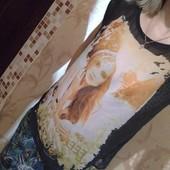 Красивая футболка-блуза Amisu Оверсайз