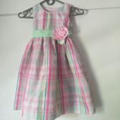 Нарядное платье на 4-5 лет В отличном состоянии. Привезла из США