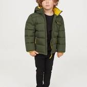 Демисезонная куртка H&M холодная осень 7/8 лет 128 рост