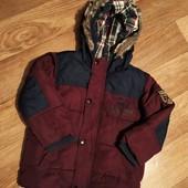 Стильная деми куртка Next, 2-3 года.