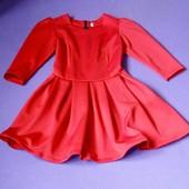 Женское красное платье,в очень хорошем состояние,р.42,смотрите описание и другие лоты.