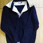 рубашка обманка на мальчика 134-140 см без нюансов