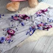 Качество!!! Шикарнейшее шифоновое платье от модного бренда Billie & Blossom