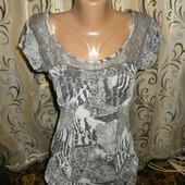 Шикарная женская футболочка с кружевом