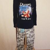 Пижама размер М замеры на фото