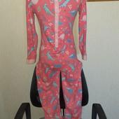 Слип пижама домашний комбинезон хлопок 11лет