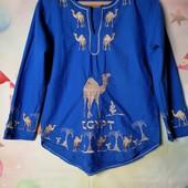 ЛоВиЛоТы! Яркая коттоновая блуза Египет