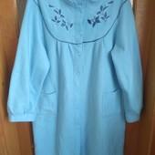 Стоп! ❤ Мягкий халат василькового цвета большой размер❤Собирайте лоты,экономьте на доставке
