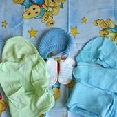 Два набора + шапочка для малыша
