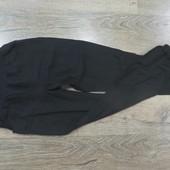 Лен+вискоза фирменные штаны с утяжкой.ПОБ-48см.