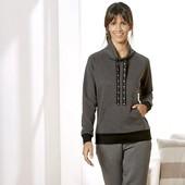 стильная женская кофта, в середине начес, от Esmara. Германия.