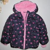1,5-2 г. (86-92 см) Куртка демисезонная на девочку