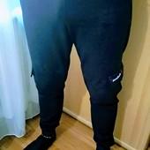 Штаны спортивные темно синие Rebook