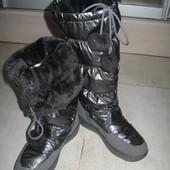 Зимние сапоги, на мороз. Производство Украина 36.37р